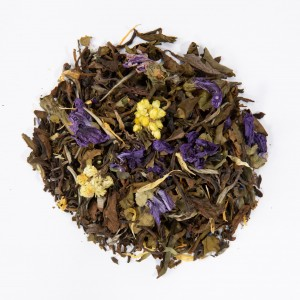 white blossom cbd tea