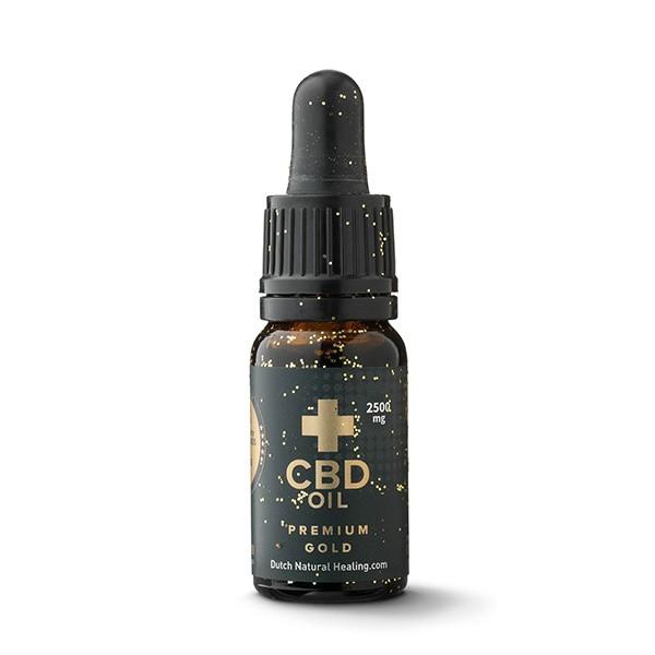 CBD Olie 25% van Dutch Natural Healing (10ml) - (2500mg)