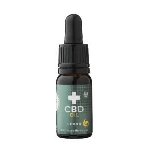 CBD Olie 8% van Dutch Natural Healing (10ml) - Citroensmaak