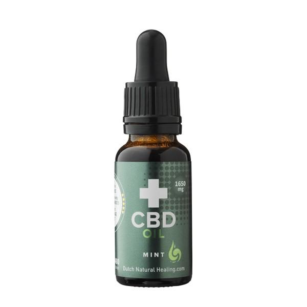 CBD Olie 8% van Dutch Natural Healing (10ml) - Muntsmaak