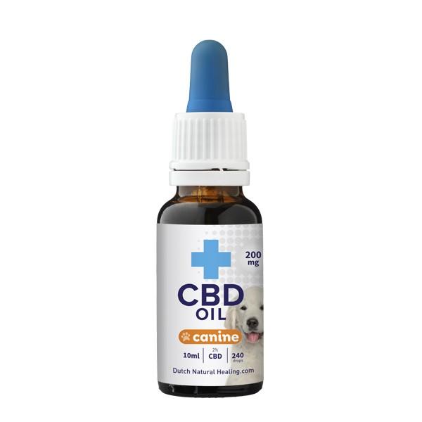 CBD olie voor honden 2% - 10ml